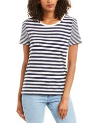 J.Crew Striped T-shirt - Blue