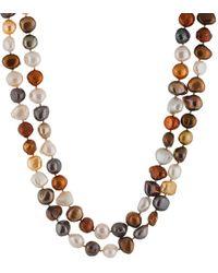 Splendid 8-10mm Freshwater Pearl 64in Necklace - Multicolour