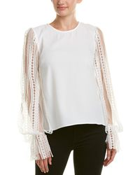 Endless Rose Lace Top - White