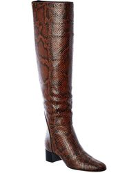 Giuseppe Zanotti Leather Over-the-knee Boot - Brown