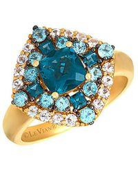Le Vian ? 14k 2.17 Ct. Tw. Gemstone Ring - Blue