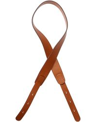 The Row Drum Bag Leather Strap - Brown