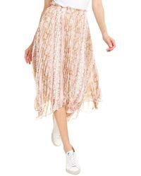 Lucy Paris Leena Midi Skirt - Pink