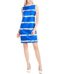Piazza Sempione Shift Dress - Blue