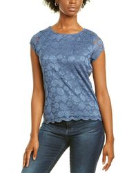 Karl Lagerfeld Lace Top - Blue