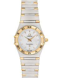 Omega 1990s Constellation Watch - Metallic