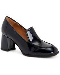 Aquatalia Michele Weatherproof Patent Loafer - Blue