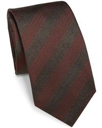 Saks Fifth Avenue - Collection Herringbone Silk Tie - Lyst