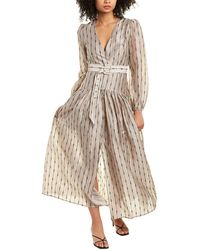 ATOIR In My Head Linen-blend Maxi Dress - White