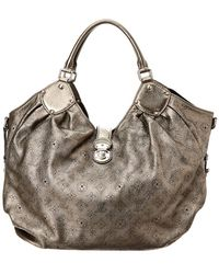 Louis Vuitton - Silver Mahina Leather Xl - Lyst