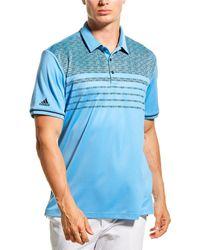adidas Originals Core Novelty Polo Shirt - Blue