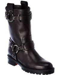 Christian Louboutin Bikita Leather Boot - Black