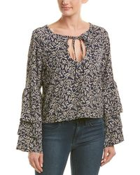 Lucca Couture Piper Top - Blue