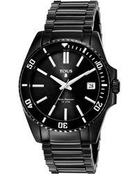 Tous Women's Drive Dive Watch - Black