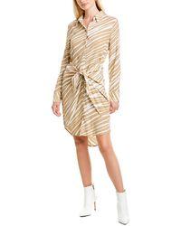Habitual Talia Shirtdress - Brown