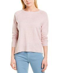 Max & Moi - Linen-blend Pullover - Lyst