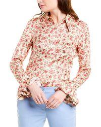 Michael Kors Silk Top - Pink