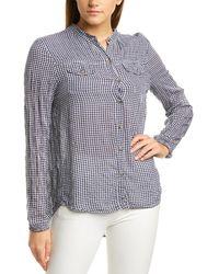 XCVI Shirt - Blue