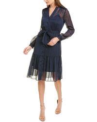 Nanette Lepore Martha Midi Dress - Blue