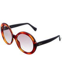 Ferragamo Sf956s 57mm Sunglasses - Multicolor