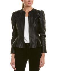 Rebecca Taylor - Victorian Leather Jacket - Lyst