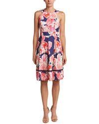 Eliza J A-line Dress - Pink