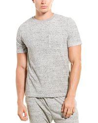 Onia Macro Towel Terry T-shirt - Gray