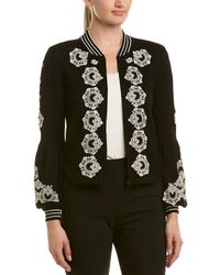 Nanette Lepore - Wool Cardigan - Lyst