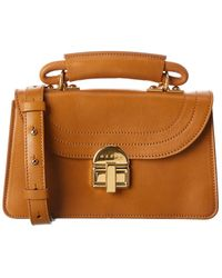 Marni Juliette Leather Handbag - Brown