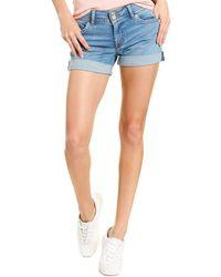 Hudson Jeans Ruby Mid-thigh Shorts - Blue