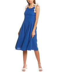 Endless Rose Mini Dress - Blue