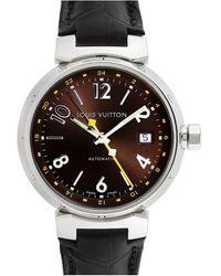 Louis Vuitton Louis Vuitton Men's Tambour Watch, Circa 2000s - Metallic