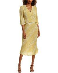 Diane von Furstenberg Midi Skirt - Yellow