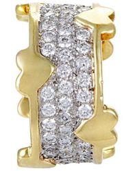 Heritage Tiffany & Co. Tiffany & Co. 18k & Platinum 2.40 Ct. Tw. Diamond Ring - Metallic