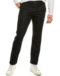 7 For All Mankind 7 For All Mankind Slim Chino Sovereign Crop Jean - Black