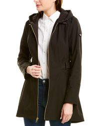 Via Spiga Medium Rain Coat - Black