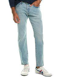 Levi's Levi's 501 Thistle Subtle Slim Taper Leg Jean - Blue