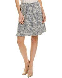 Max Studio A-line Skirt - White