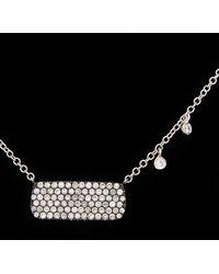 Meira T 14k 0.54 Ct. Tw. Diamond Necklace - Black