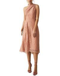 Reiss Stephie Midi Dress - Multicolor