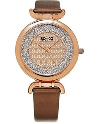 SO & CO Women's Soho Watch - Metallic