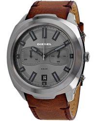 DIESEL Men's Tumbler Watch - Metallic
