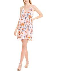 Three Eighty Two Tanner Mini Dress - Pink