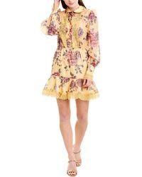 Keepsake Atomic Mini Dress - Yellow