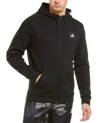 adidas Mhs Full Zip Hoodie - Black