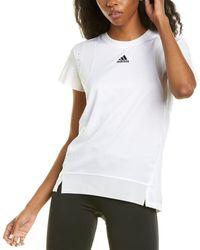 adidas Heat.rdy Training T-shirt - White