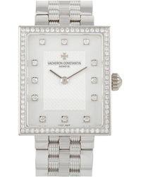 Vacheron Constantin Vacheron Constantin Diamond Watch - Metallic