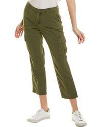Blank NYC Mary Jane Twill Cargo Pant - Green