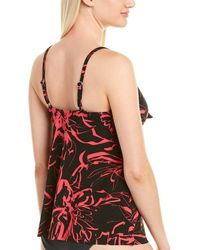 Magicsuit Out Of Line Alison Tankini Top - Black