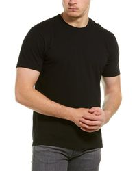 James Perse Back Graphic T-shirt - Black